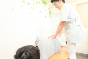 産後の骨盤矯正 施術